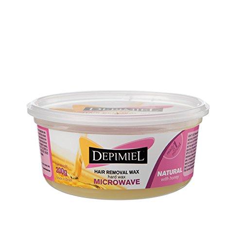 Hard Wax Natural Microwave Wax (Bikini Microwave)