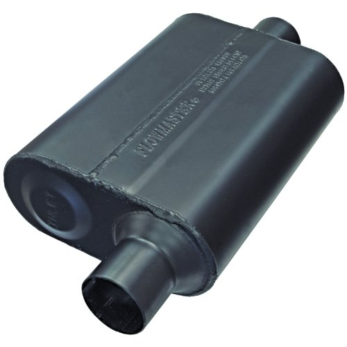 Flowmaster 942446 Super 44 Muffler - 2.25 Offset IN / 2.25 Center (Chevy Monte Carlo Performance Parts)