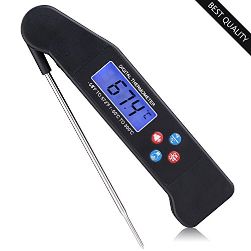 Why Choose Food Thermometer - Best Digital Meat Thermometer with Talking functions, Electric Cooking...