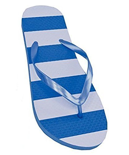 Sandrocks Womens Rubber Slippers Blue mmRhr9