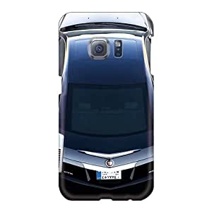 Shock-Absorbing Hard Phone Covers For Samsung Galaxy S6 With Provide Private Custom High-definition Cadillac Cts Coupe Image JacquieWasylnuk