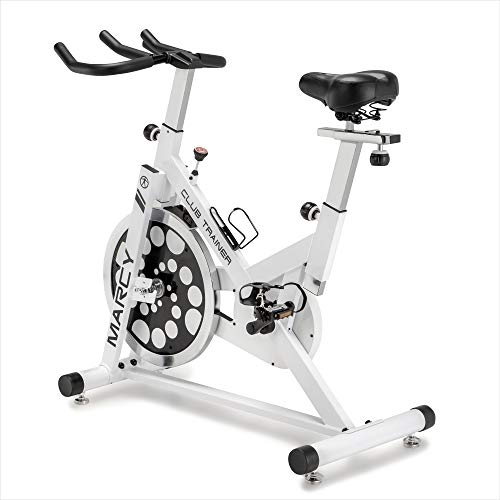 Marcy XJ-5801 Club Revolution Indoor Home Gym Exercise Bike Trainer, White/Black by Marcy (Image #7)