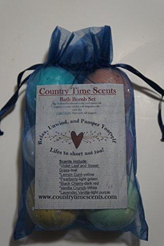 Bath Bomb Gift Set of 6, 3oz