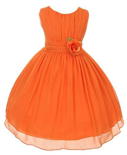 iGirlDress Big Girls' Yoro Chiffon Flower Girls Dress