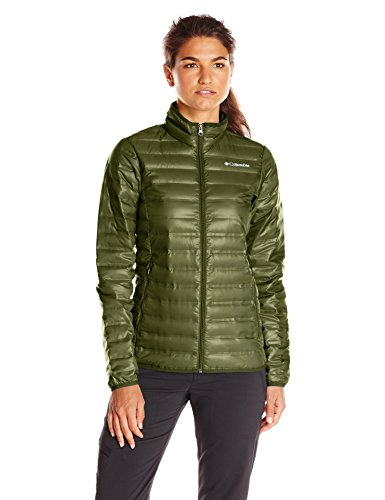 Columbia Women's Flash Forward Down Jacket, Surplus Green, Small (Jacket Down Green)