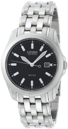 Citizen Men's BM6730-56L Eco-Drive Stainless Steel Blue Dial Watch (56l Watch)