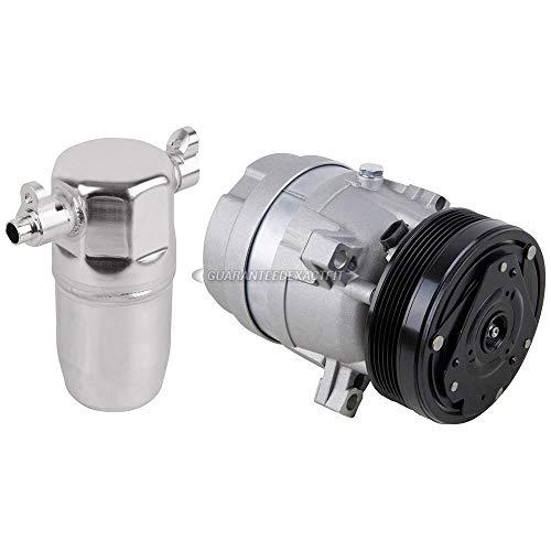 AC Compressor w/A/C Drier For Buick LeSabre & Pontiac Bonneville 2000-2005 - BuyAutoParts 60-86125R2 -