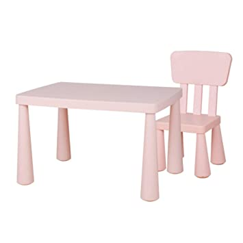 Yjzy Set Infantil Mesa Sillas,utilizado para pintar y comer hechos ...
