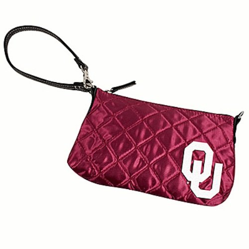 NCAA Oklahoma Sooners Quilted Wristlet