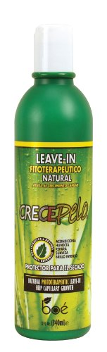 Crece Pelo Natural Phitoterapeutic Leave-In 12 oz. by Crece ...