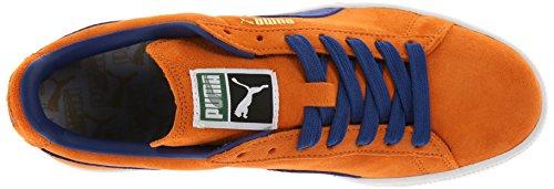Puma Adulto Camoscio Classico Scarpa Color Ruggine Arancione / Limoges