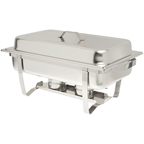 Hubert Chafing Dish Economy Priced 8 Qt Stainless Steel ()