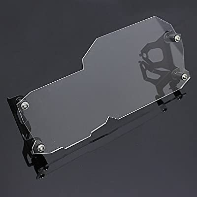 Motorcycle Black Front Headlight Guard Cover Lens Protector For 2008-2012 BMW F650GS 2013-2015 F700GS 2008-2015 F800GS 2009-2015 F800R F 650 700 800 GS R 2010 2011 2014