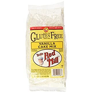 Gluten Free Vanilla Cake Mix by Bob's Red Mill, 19 oz