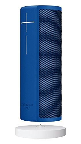 Ultimate Ears BLAST Portable Wi-Fi/ Bluetooth Speaker + Power Up Charging Dock with Hands-Free Amazon Alexa Voice Control (Waterproof) – Blue Steel (Renewed)