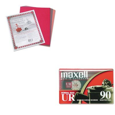 KITMAX108510PAC103637 - Value Kit - Maxell Dictation amp;amp; Audio Cassette (MAX108510) and Pacon Riverside Construction Paper (PAC103637)