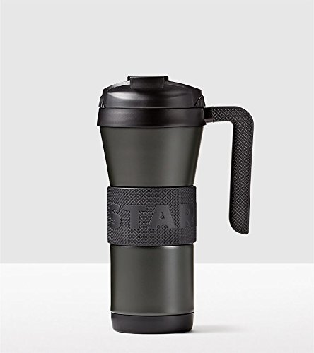 Starbucks Stainless Steel Grip Tumbler with Handle Black 16 Oz