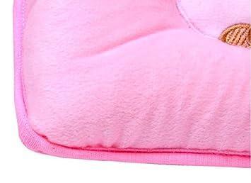 m-g-x cute Bear cotone morbido cuscino di sostegno per neonati aiuta a prevenire sindrome della testa piatta