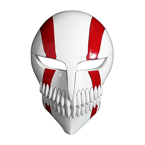 Mtxc Bleach Cosplay Prop Ichigo Kurosaki Hollow Mask Fifth Stage Red
