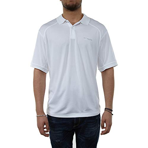 Columbia Skiff Guide III Polo, Large, White ()