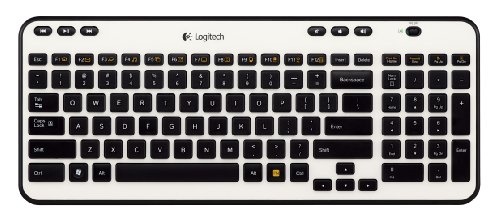 Logitech Wireless Keyboard K360 (Ivory) (920-003365)