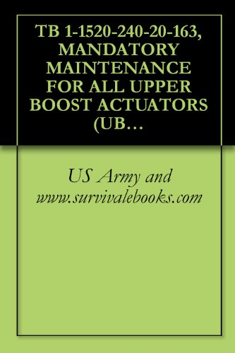 TB 1-1520-240-20-163, MANDATORY MAINTENANCE FOR ALL, used for sale  Delivered anywhere in USA