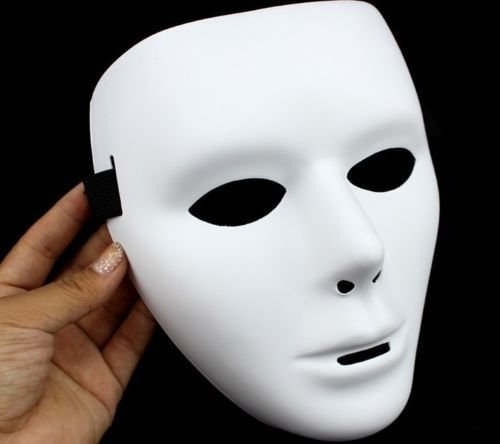 AMAZZANG-2 x Halloween Masquerade Party Mask devil mask Cosplay Ghost Men&Women Masks (Saw I The Devil)
