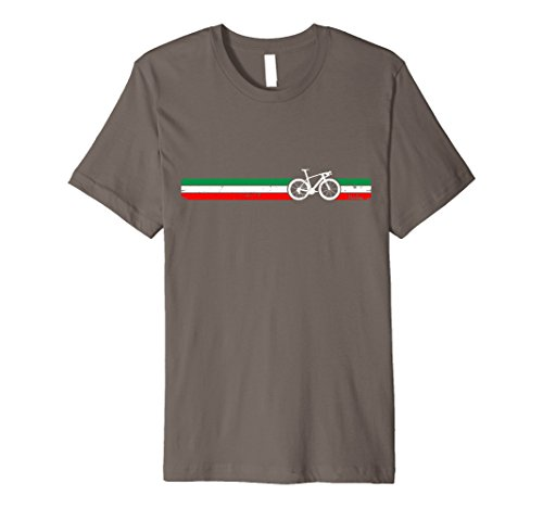 Italian Cyclist Bike Racing TShirt Italy Flag Love Bicycling -  Peloton Bike Racing Tees