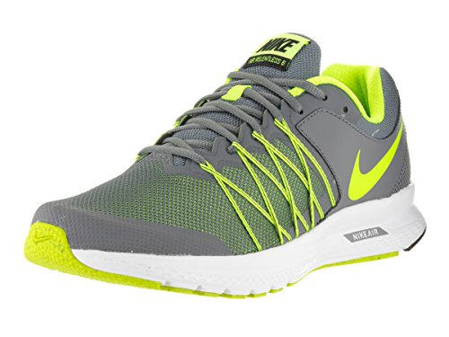 14adc9a222d Galleon - Nike Men s Air Relentless 6 Cool Grey Volt Black White Running  Shoe 10.5 Men US