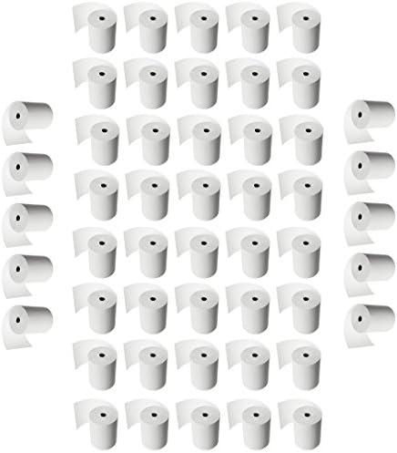 50 Thermorollen 80/80/12 – XXL sehr lang - Kassenrollen Thermo Beleg Thermopapier Bonrollen Rollen für Epson 80mm 80m