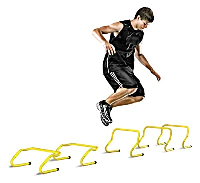 SKLZ Speed Hurdles - 5 Adjustable Height Hurdles