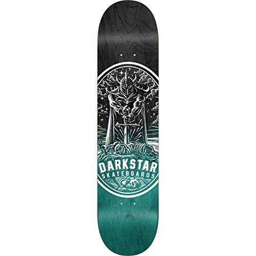 ワイヤーフィクションピクニックをするDarkstar Warriorスケートボードデッキ-8.0 Aquaデッキのみ(ハードウェアフリー1