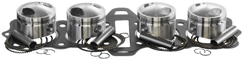 1975 Yamaha RD350 Top End Kit - 1.00mm Oversize to 65.00mm, Manufacturer: Wiseco, PISTON KIT K131