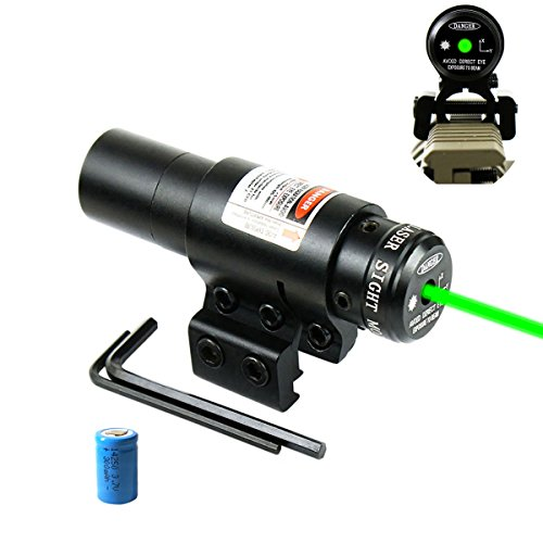 Find Cheap Shockproof Green Laser Sight with 11/20mm Picatinny Rail Mount, for Pistol Handgun Airgun...