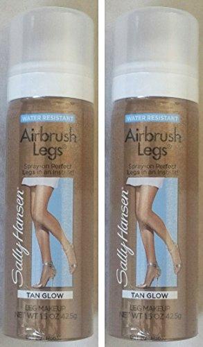 (Sally Hansen Airbrush Legs - Tan Glow (2 Pack))