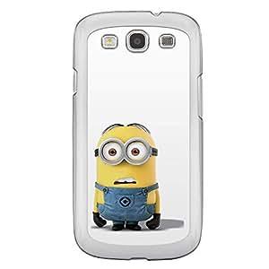 Loud Universe Samsung Galaxy S3 Files Minion 26 Printed Transparent Edge Case - Multi Color