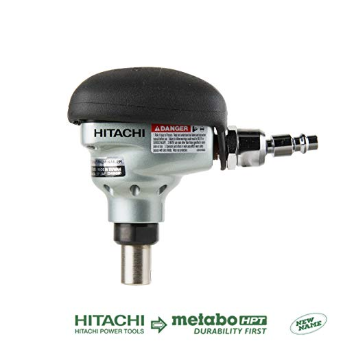Hitachi NH90AB Mini Impact Palm Nailer, 360 Degree Swivel Fitting, Accepts 2-1/2″ to 3-1/2″ Bulk Framing Nail, 5 Year Warranty (Discontinued by the Manufacturer)