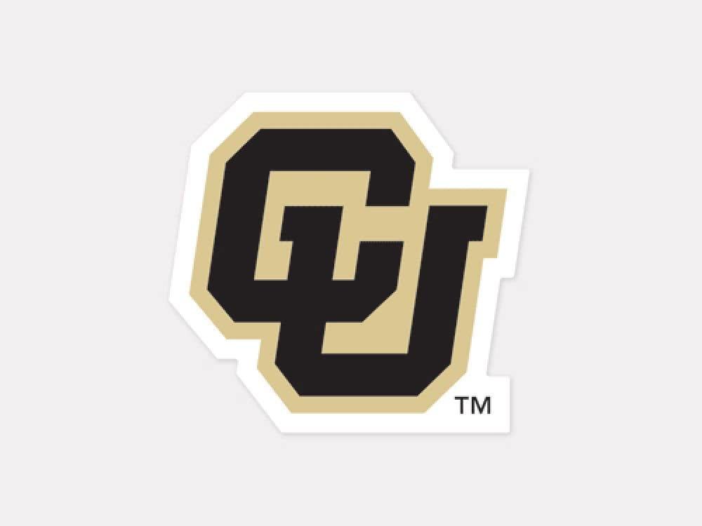 WinCraft NCAA University of Colorado Perfect Cut Color Decal, 4