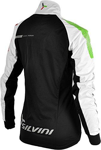 Silvini Montagno - Chaqueta deportiva de mujer, mujer, Sport Jacke Montagno, blanco y negro, extra-small blanco y negro