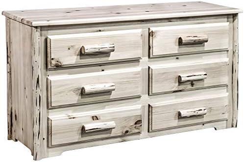 Best bedroom dresser: Montana Woodworks Montana Collection 6 Drawer Dresser