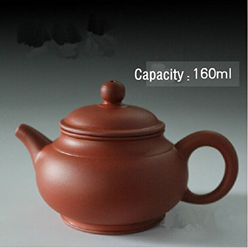 Chinese Yixing Purple Clay Teapot Zisha Red Clay Tea Pot 120cc