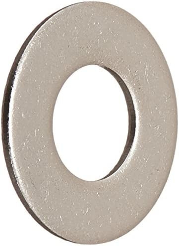 100-Pack 1//4-Inch The Hillman Group 270055 Flat Zinc Washer