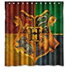 Whitexue Harry Potter Custom Waterproof Shower Curtain 66x72 inch Surprised Gift