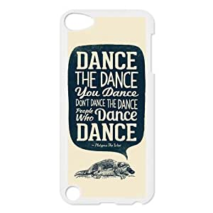 Dance Protective Hard PC Printed Cover Case for iPod Touch 5, 5G (5th Generation)