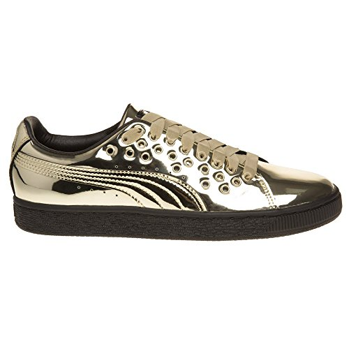 Puma Basket XL Lace Damen Sneaker Metallisch