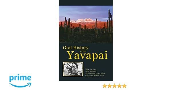 Oral History of the Yavapai: Mike Harrison, John Williams, Sigrid