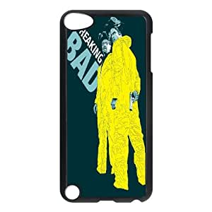 Qxhu Breaking Bad patterns Protective Snap On Hard Plastic Case for Ipod Touch5