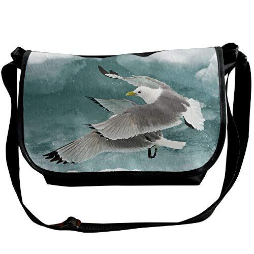 Travel Fashion Bags Unisex Legged Handbags Shoulder Cross Kittiwakes Black Body Bags Black OZqzR