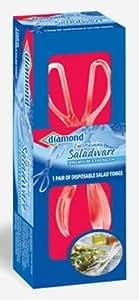 Diamond Entertaining Saladware Disposable Salad Tongs