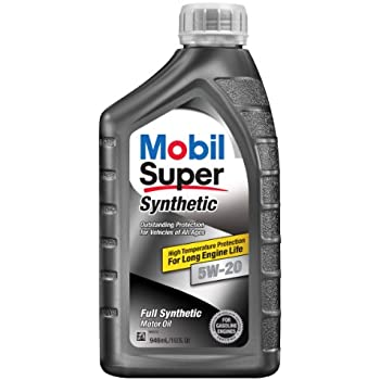 Mobil super 112911 5w 20 synthetic motor oil for What is synthetic motor oil made out of